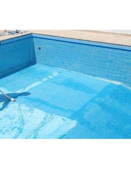 Pintura para piscinas de baldosa, gresite, o azulejo