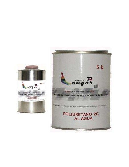 Poliuretano al agua dos componentes ANGAR