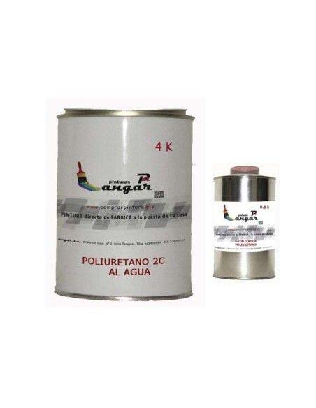 Poliuretano al agua dos componentes brillo ANGAR