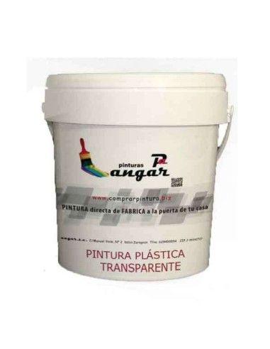 Comprar Pintura Plástica TRANSPARENTE MATE Barniz para pintura plastica
